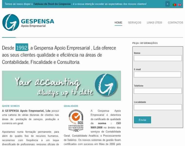 criação sites gabinetes de contabilidade