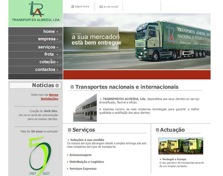 soluções web transportes