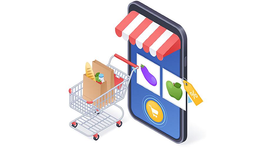 confinamento e venda online
