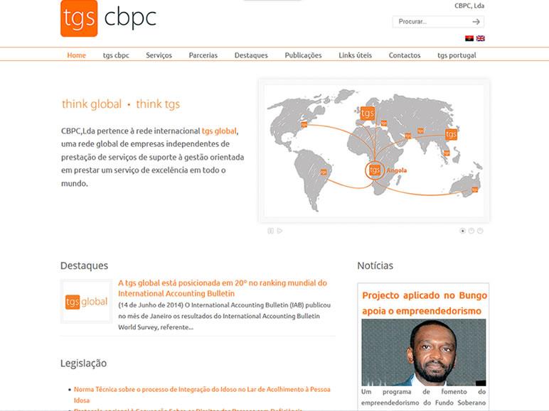 desenvolvimento web Angola